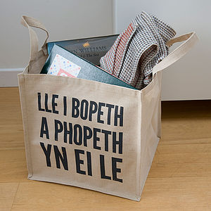 Welsh Storage Bag