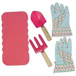 Children's Fun Pink Garden Set