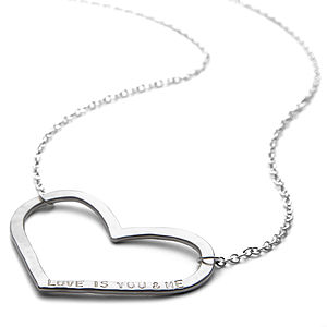 Personalised Mega Love Necklace