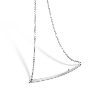 Diamond Bar Necklace - fine jewellery