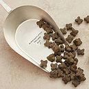 Personalised Silver Plated Pet Food Scoop