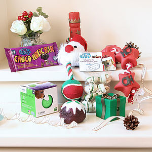Puppy's First Christmas Hamper - christmas gifts for pets