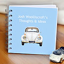 Vw Beetle Car Notebook