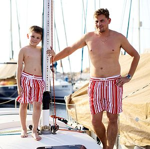 Mens Deckchair Swimshorts - shorts
