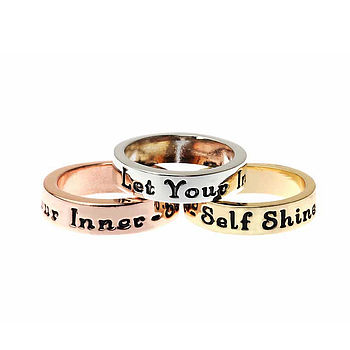 Sentiment Ring Set Of Three