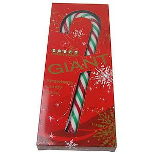 Giant Christmas Candy Cane - chocolates & confectionery