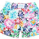 Boy's Colour Burst Swim Shorts