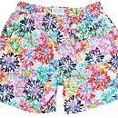 Men's Colour Burst Swim Shorts