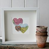 Personalised Multi Heart Map Picture - prints & art