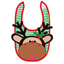 Maximillian The Moose Unisex Bib