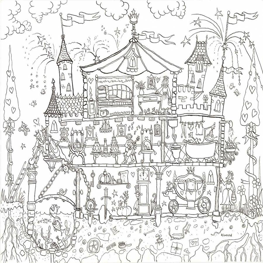 Doll Palace Coloring Pages - Photos Coloring Page Ncsudan.Org