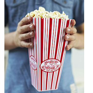 Popcorn Holder - serving dishes