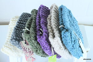 Hand Knit Cable Headband - hair care accessories