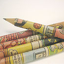 Dandy and Beano Comic Book Pencil Sets