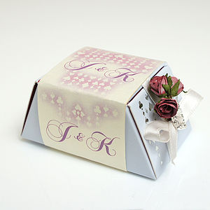 Fairy Tale Gourmet Chocolate Wedding Favours Stackable - luxury chocolates