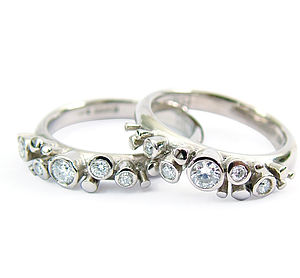 Diamond Meteor Ring