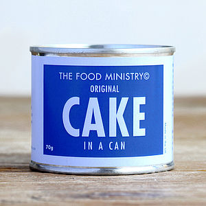 Original Cake In A Can - cakes & treats