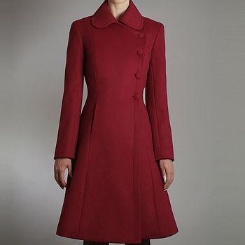 Pure Wool A Line Coat