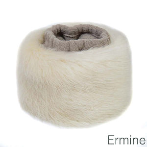 Faux Fur Cuffs - women's accessories