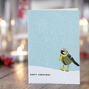 Pack Of 20 Christmas Cards Four Designs - cards