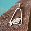 Handmade Silver Charm Necklace