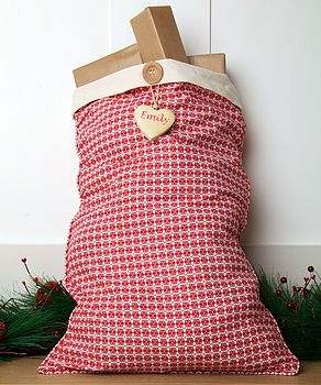 Personalised Alpine Santa Sack