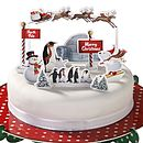 North Pole Christmas Cake Toppers