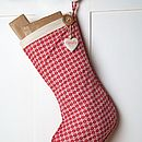 Personalised Alpine Stocking
