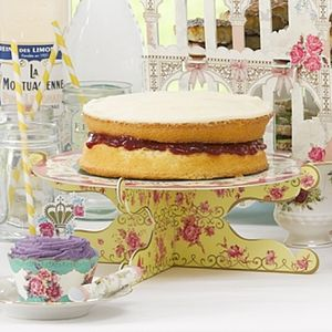 Scrumptious Card Cake Stand - cake stands