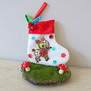 Bambi Mini Felt Stocking