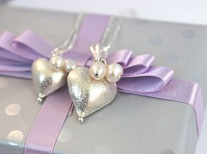 Rosaline Silver Heart Necklace - children's accessories