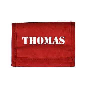 Personalised Children's Wallet / Purse