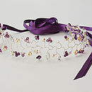 Pearl Butterfly Hair Vine Bridal Headdress