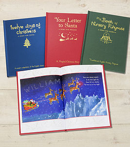 Personalised Childrens Gift Book Offer - personalised christmas books