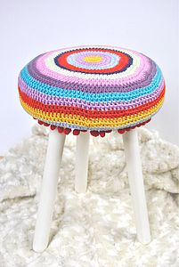 Child's Stool Crochet 'Little Nellie' - furniture delivered for christmas