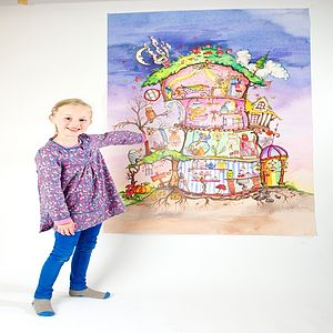 Fairy House Cut Through Poster