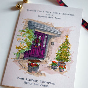 35 Personalised Christmas Cards - christmas cards