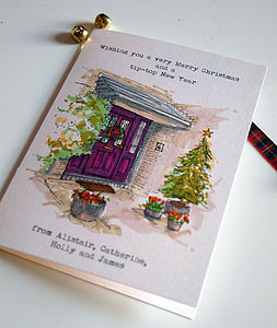 35 Personalised Christmas Cards - cards & wrap