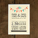 Whimsical Lovebirds Wedding Invitation