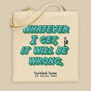'Wrong' Man Bag - bags