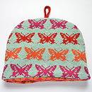 Butterfly Knitted Tea Cosy
