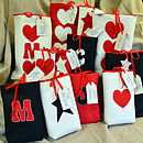 Traditional Personalised Christmas Bags