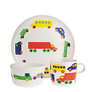 Kids Plate, Cup And Bowl Dining Set