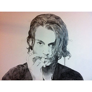 Johnny Depp Oil Painting - paintings & canvases