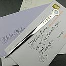 Letter Opener Heavy Silver