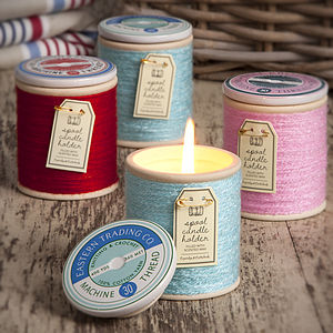 Unusual Candle Cotton Reel - lights & candles