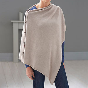 Alpaca Multi Way Poncho - maternity