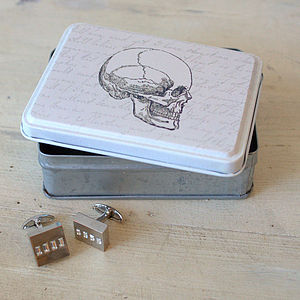 Vintage Skull Trinket Box - jewellery storage & trinket boxes