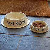 Personalised Pet Bowl - pets
