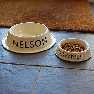 Personalised Pet Bowl - dogs